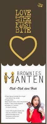 Desain X-Banner Brownies Manten