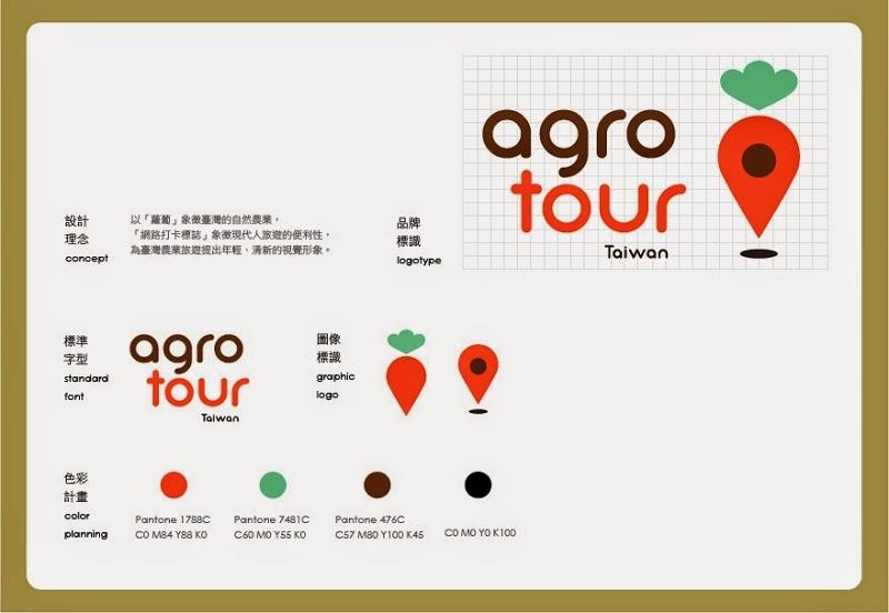 2013台灣農業旅遊標誌設計徵選得獎作品