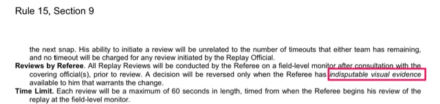 NFL Rule Book - Rule 15, Section 9