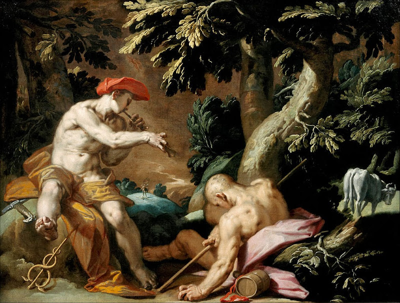 Abraham Bloemaert - Mercury, Argus and Io - Google Art Project