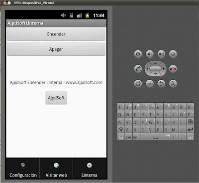 Código Java en aplicación Android para cargar fichero XML de menú