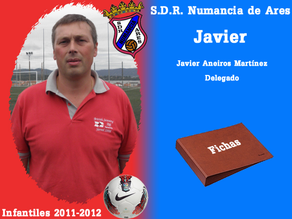 ADR Numancia de Ares. Infantís 2011-2012. JAVIER.
