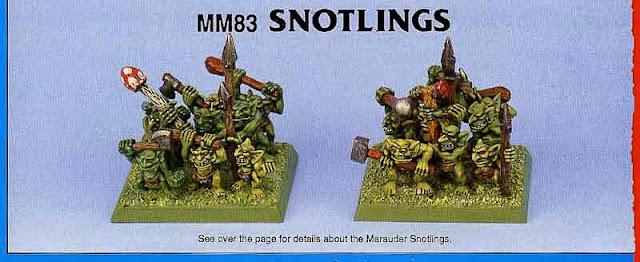 Snotlings Warhammer Fantasy