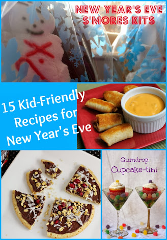 15 Kid Friendly Recipes for NYE #NYE #Appetizers #Desserts
