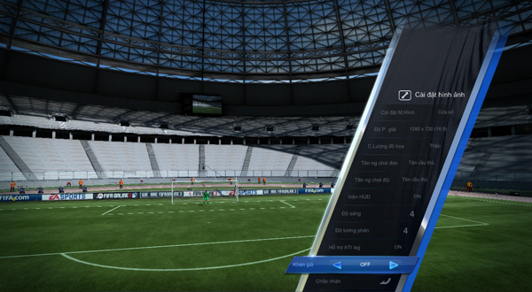 Chơi FIFA Online 3 mượt hơn trên máy cấu hình yếu