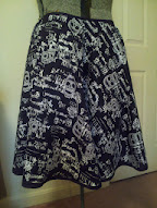 The finished skull skirt!