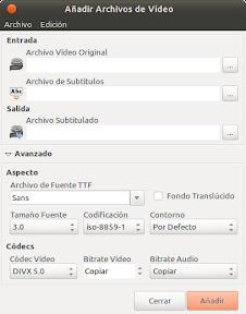Subtitulator o como poner subitulos a los videos