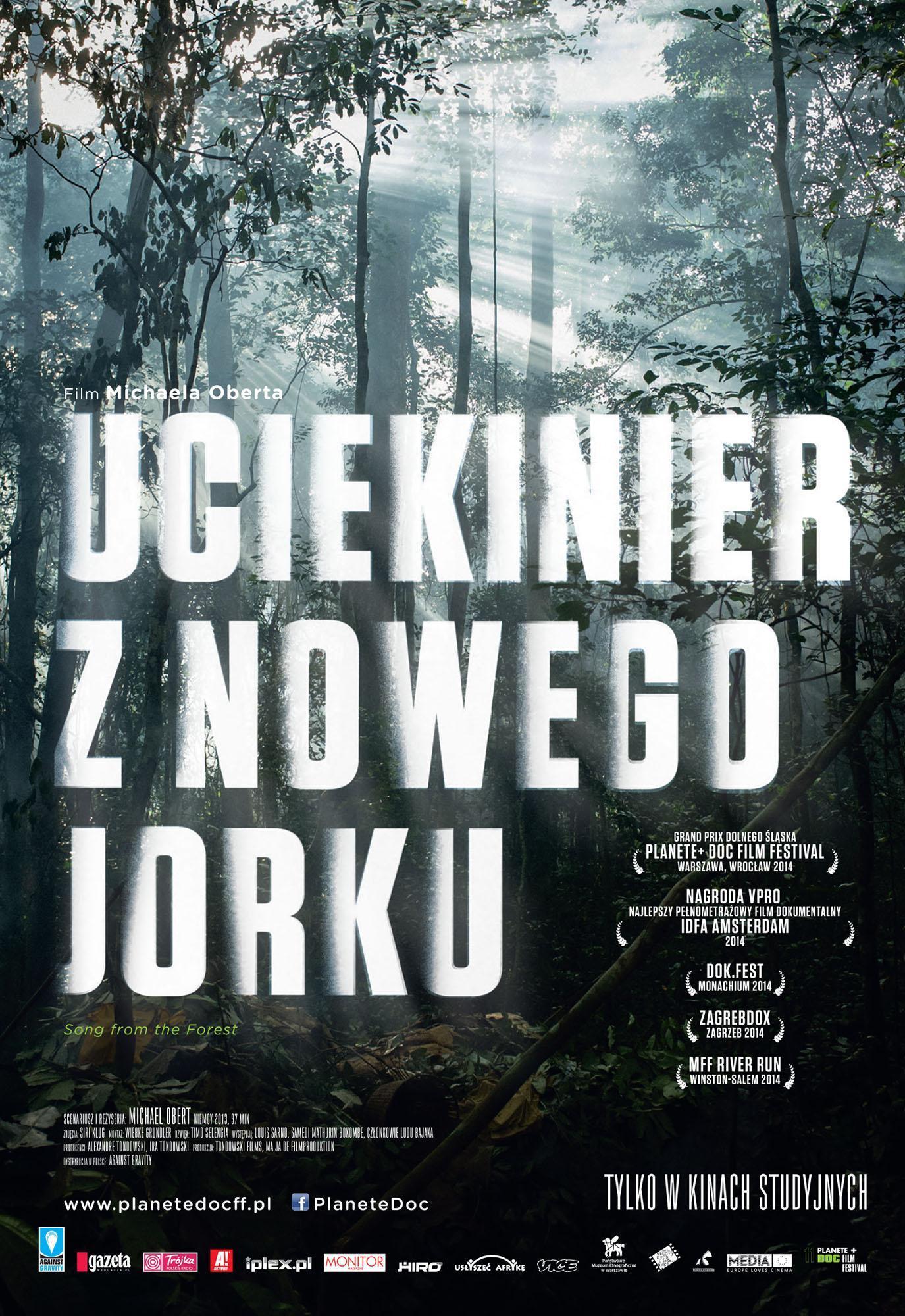 Ulotka filmu 'Uciekinier Z Nowego Jorku (przód)'