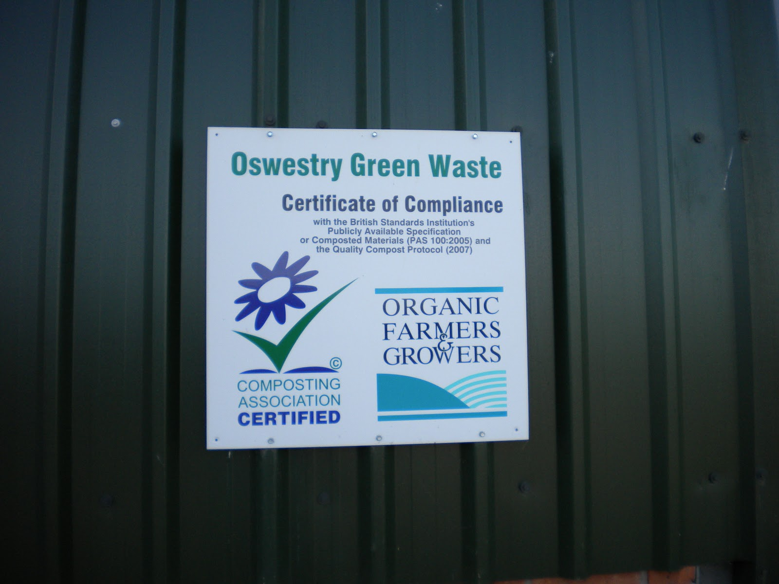 Shropshire Master Composters News March 2011 New Wiring To Basement Flat Conversion Electrical Job In Oswestry Fact Its So Good That The Whole Farm Is Now Using Compost Only And Does Not Need Rely On Artificial Fertilisers Any More