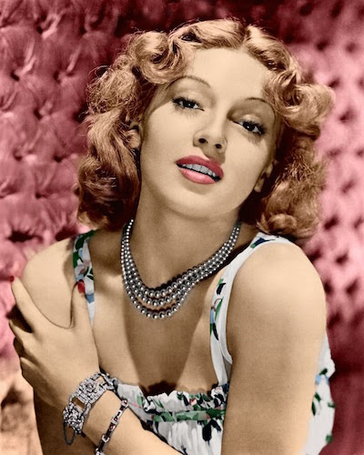 Young Lana Turner.