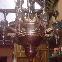 Lampu+Gantung+Tembaga+Masjid