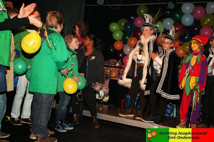receptie jeugdprins papgat carnaval sint-oedenrode scouting rooi 2014