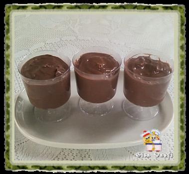 Creme de chocolate da Anete