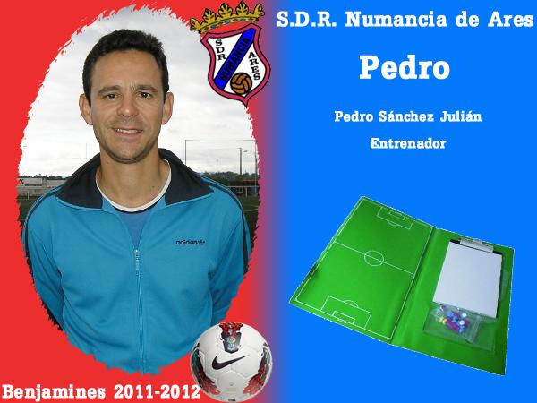 ADR Numancia de Ares. Benxamíns 2011-2012. PEDRO