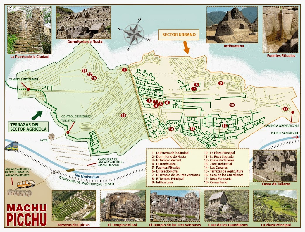 Plano Machu Picchu