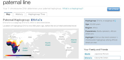 23AndMe Results: Kalonji's Paternal Haplogroup – Taneya's Genealogy Blog