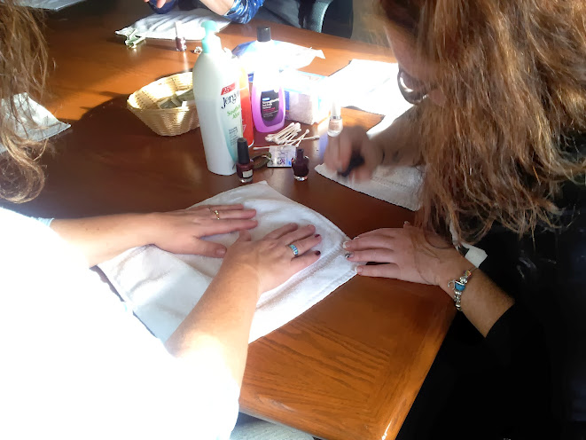 Saturday Women's Weekend Nail and Hand Paraffin Treatments at Bridgeport Resort in Door County.