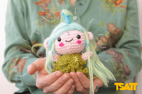 Amigurumi fairy. Pattern by The Sun and the Turtle