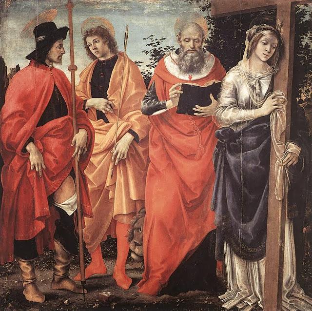 Filippino Lippi - Four Saints Altarpiece