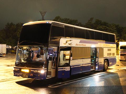JR東海バス「ドリームなごや3号」 744-09991 プレミアムシート仕様車 足柄SA休憩中