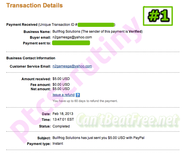 cantbeatfree.net payment proof