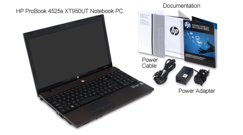 Laptop Computer PC Reviews: Review of HP ProBook 4525s