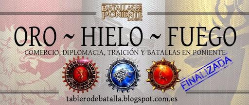 Foro Tablero de Batalla, para los aficionados al juego Batallas de Poniente