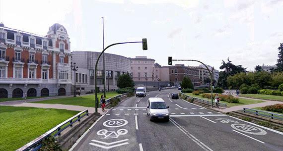 Semáforos en Bailén