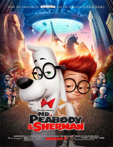 Poster de Mr. Peabody and Sherman (Las aventuras de Peabody y Sherman)