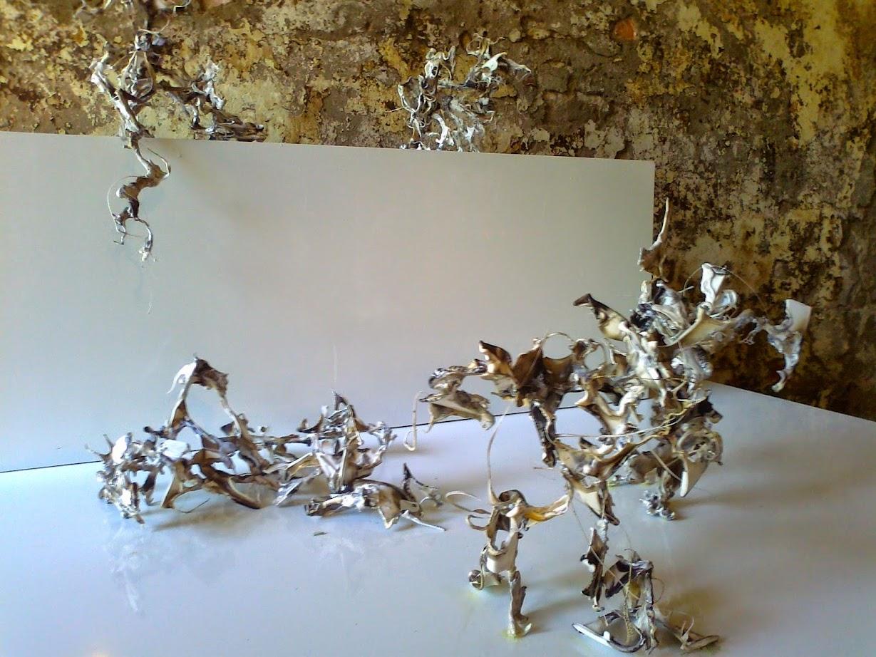 Plastikkunst auf der Kunstausstellung Ostrale Dresden