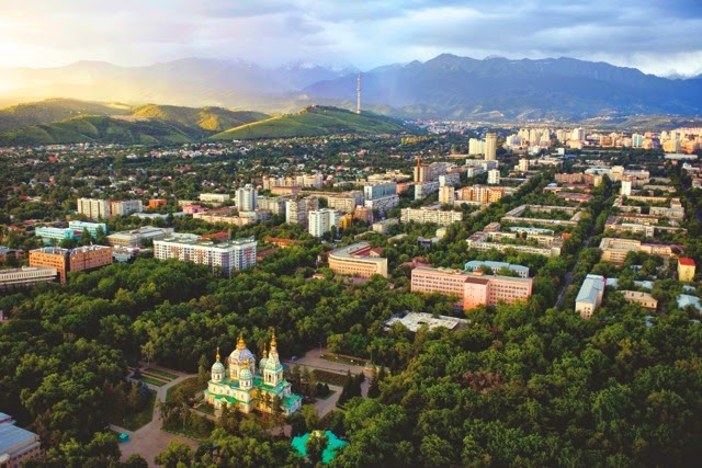 Almaty, Kazakhstan. From An Illustrated History of Kazakhstan: Asia's Heartland in Context