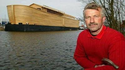 Reconstrucción del Arca de Noé en Amsterdam
