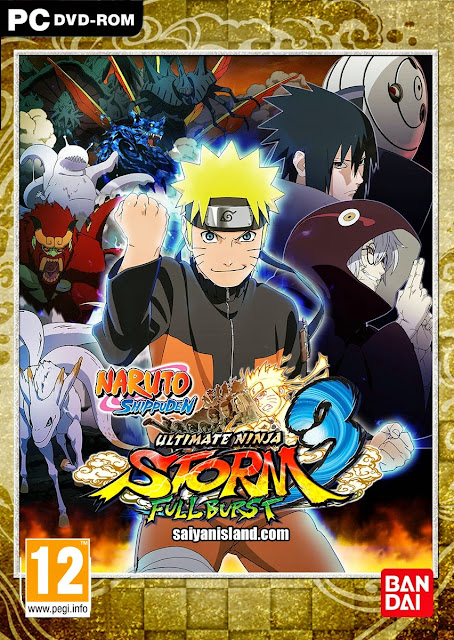 Naruto Shippuden Ultimate Ninja Storm 3 Full Burst PC Torrent Download