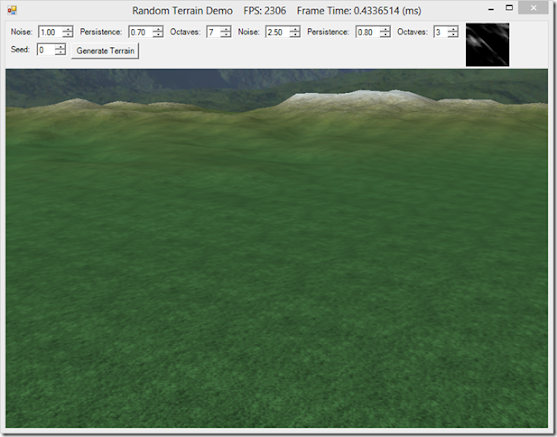 Generating Random Terrain with Perlin Noise