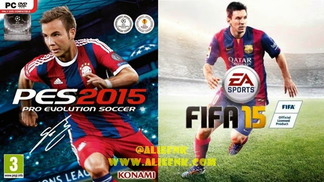 FIFA15 PES2015 Cover Art [image by Wikipedia]