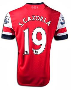 Santi Cazorla Shirt 2014