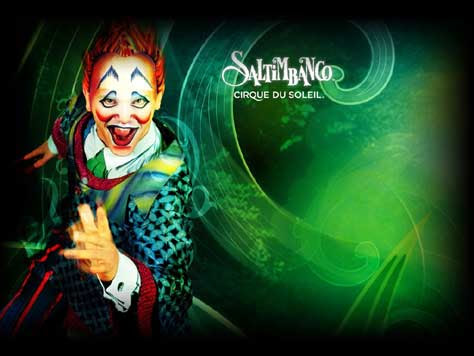 Cirque du soleil, saltimbanco
