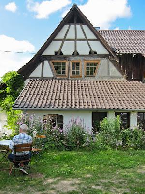 Einkehr im Café Mondweide in Sehringen.