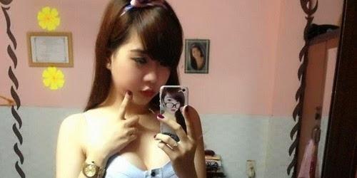 Nữ sinh 9x ngực bự khủng nhất - Vẻ đẹp gợi cảm chết người