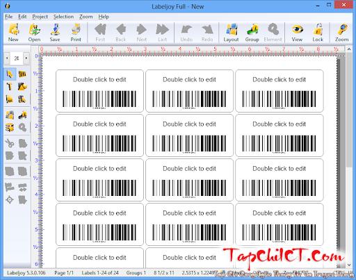Labeljoy - Phần mềm tạo mã vạch chuyên nghiệp - Diễn đàn