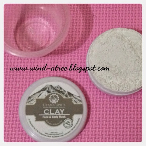 [Review] Utama Spice Clay mask