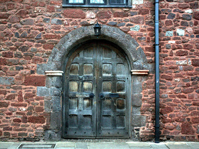 Doorway in Exeter