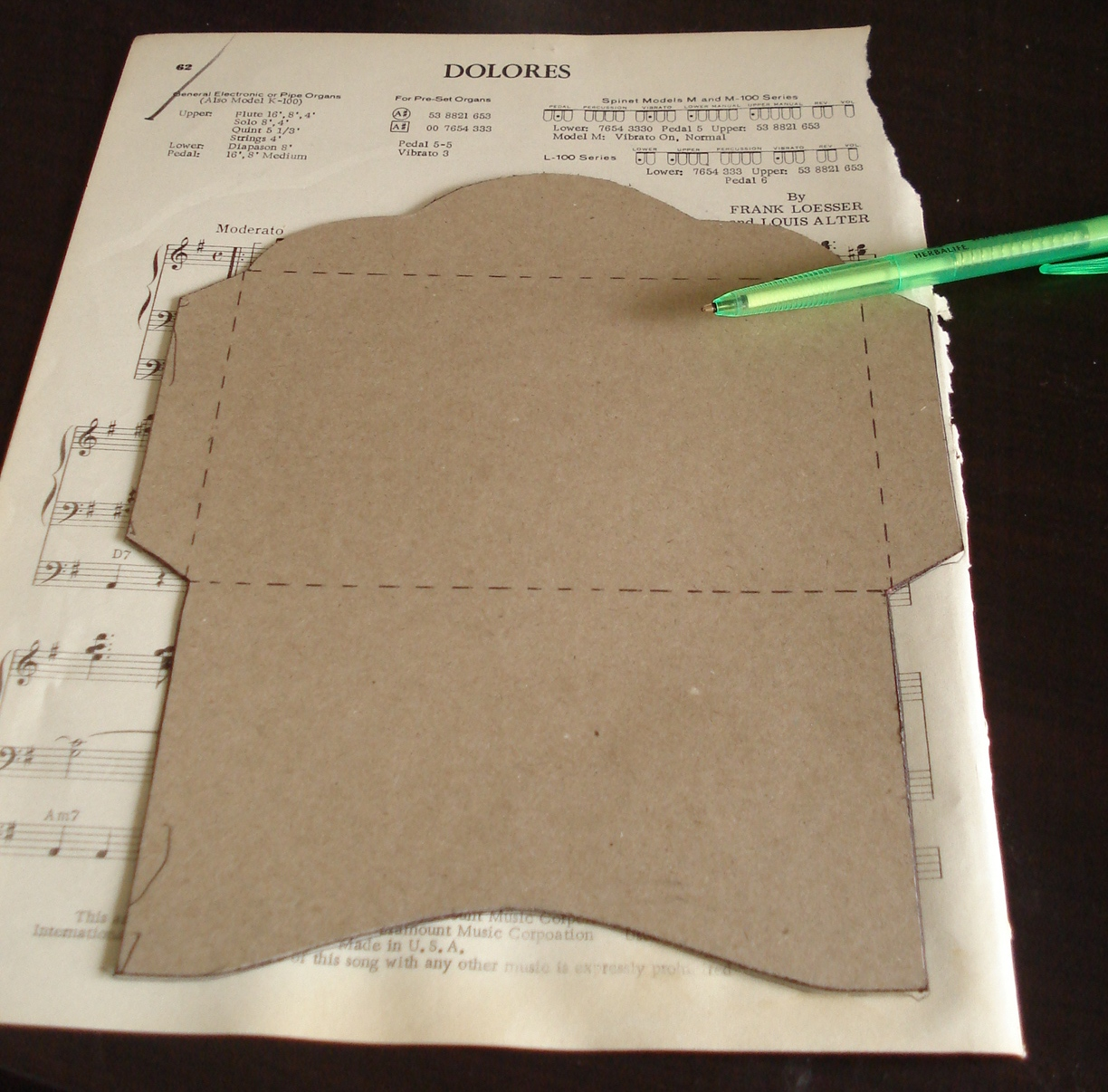 Creative You How To Make Your Own Envelopes - Make your own envelope template