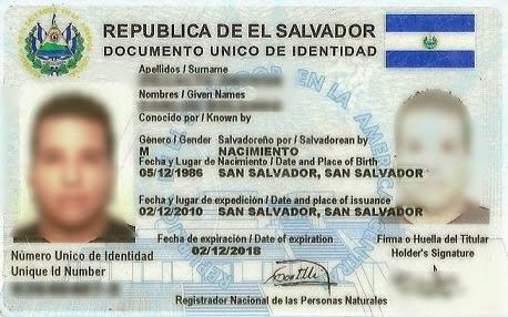 Todo sobre el Documento Unico de Identidad (DUI)
