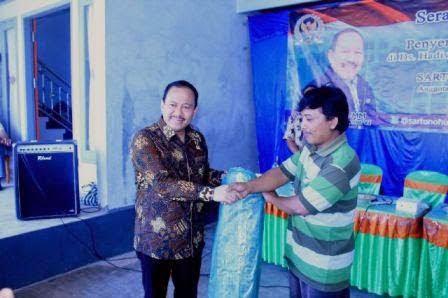 Berita foto Sinar Ngawi hari ini: Kunjungan kerja artono Hutomo anggota Komisi VI DPR RI di Pacitan Jawa Timur