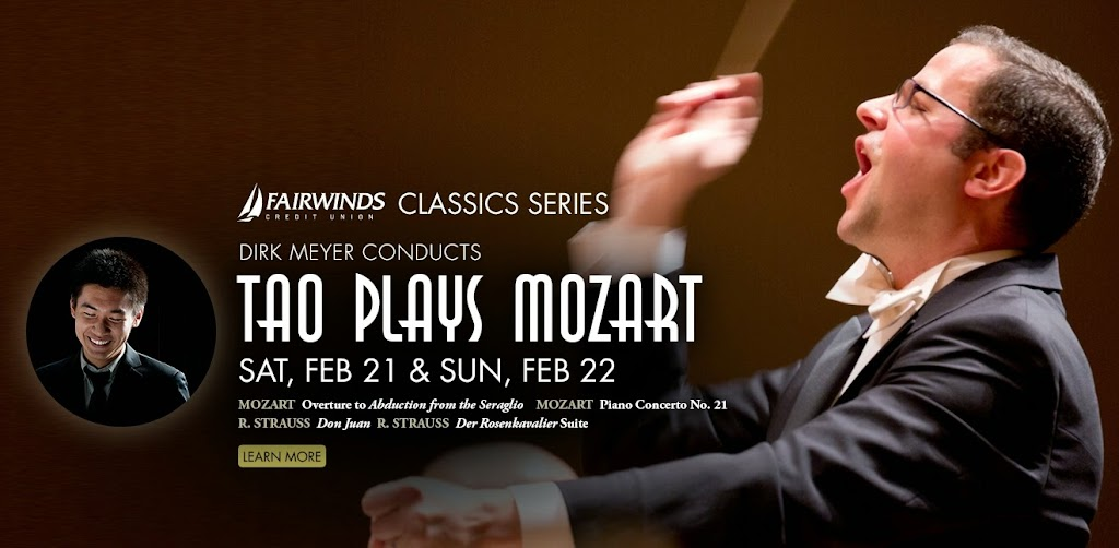 Tao Plays Mozart with the Orlando Philharmonic