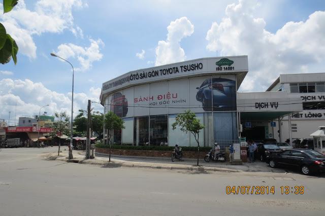 Địa chỉ Toyota Hùng Vương