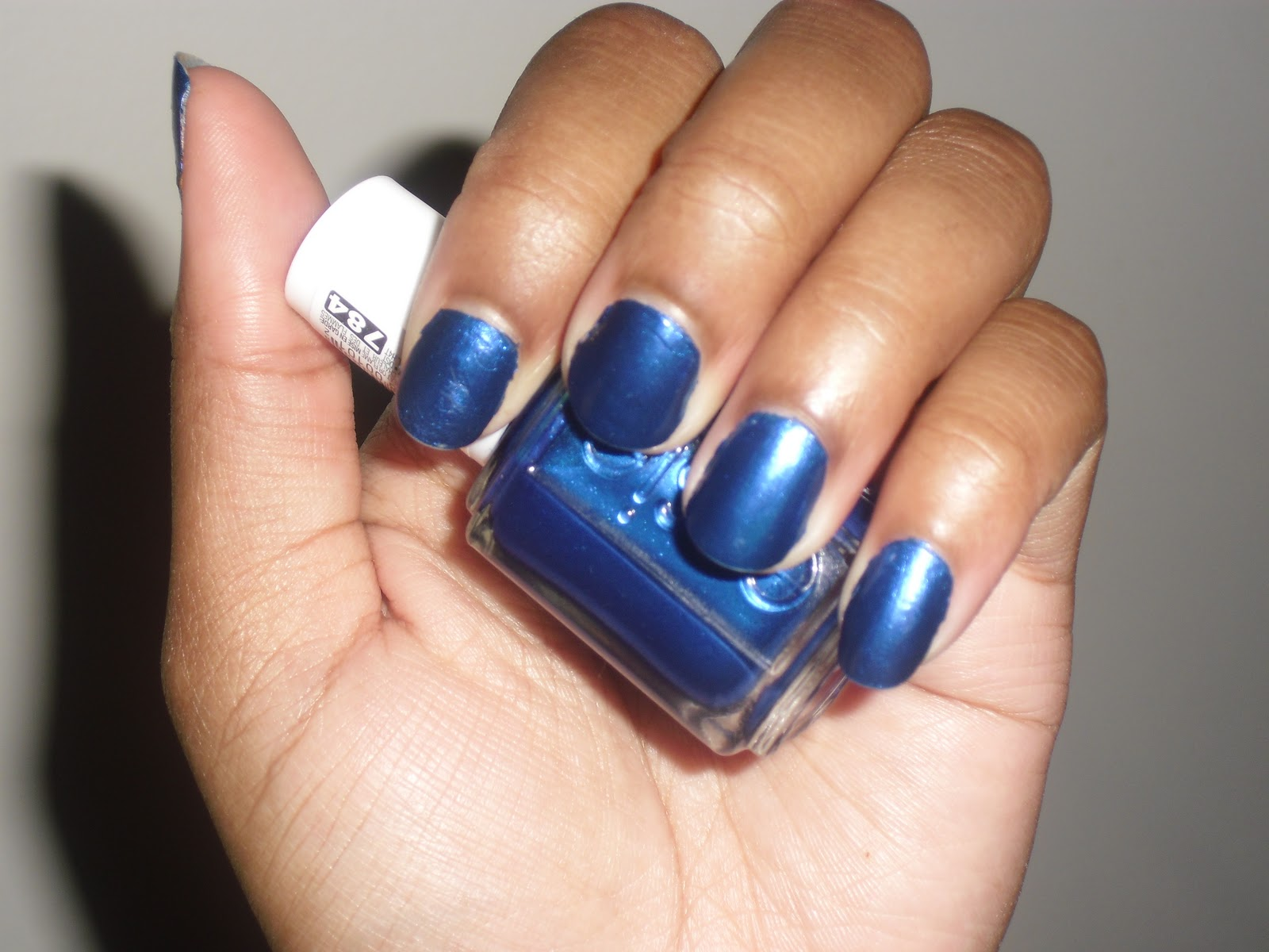 On My Nails: Essie Aruba Blue
