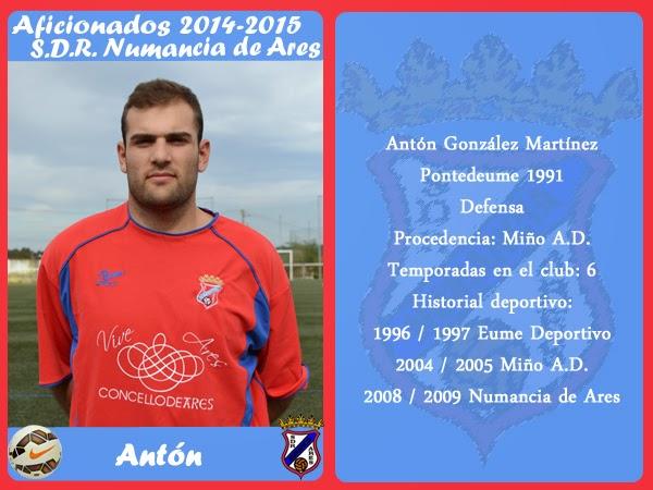 ADR Numancia de Ares. ANTON.