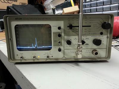AVCOM PSA-35A Spectrum Analyzer - AC9G net